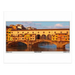 Florencia - Ponte Vecchio Postal