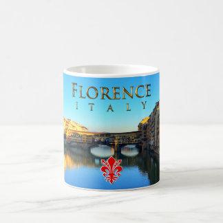 Florencia - Ponte Vecchio Taza De Café