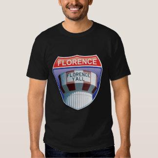 Florencia usted camiseta de un estado a otro de la remera