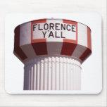 Florencia usted torre de agua Mousepad