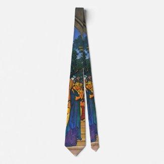 Florentine Fete 1916 a Neck Tie