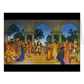 Florentine Fete 1916 Large Greeting Card