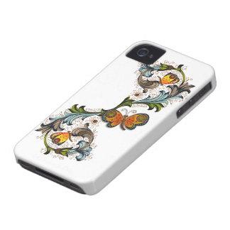 Florentine Floral Blackberry Bold Case-Mate iPhone 4 Case