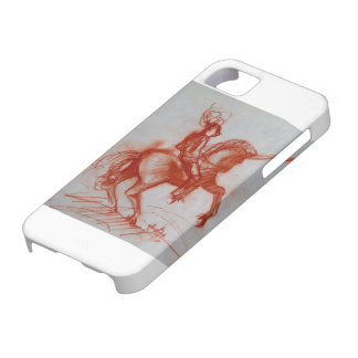 FLORENTINE KNIGHT ON HORSEBACK iPhone 5/5S COVERS