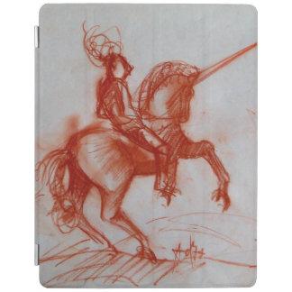 FLORENTINE  KNIGHT ON HORSEBACK iPad SMART COVER