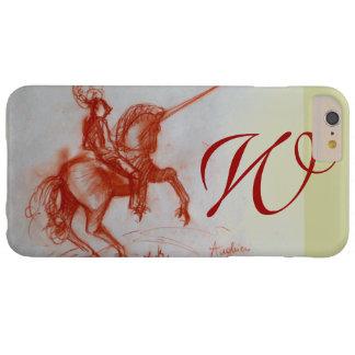 FLORENTINE  KNIGHT ON HORSEBACK monogram Barely There iPhone 6 Plus Case