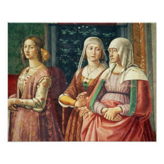 Florentine Ladies, from the Birth of St. John the Poster