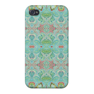Florentine Pastel  Abstract iPhone4 Case