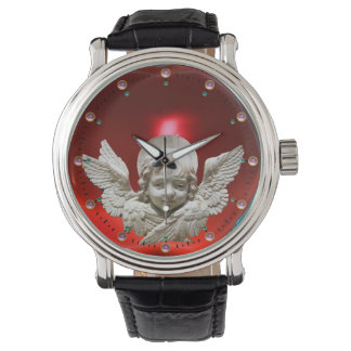 FLORENTINE RENAISSANCE ANGEL, Red Ruby Watch