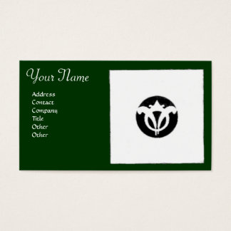 FLORENTINE RENAISSANCE HARMONY,green Business Card
