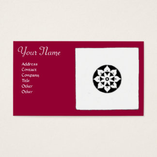 FLORENTINE RENAISSANCE HARMONY,red fuchsia Business Card