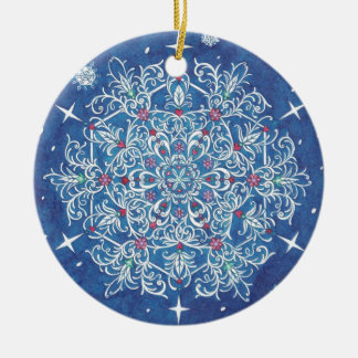 Florentine Snowflake Ornament