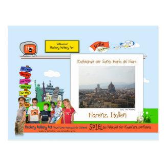 Florenz, Italien Postcard