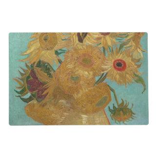 Florero con 12 girasoles de Vincent van Gogh