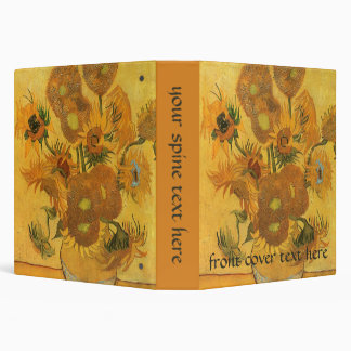 Florero con 15 girasoles por la flor del vintage