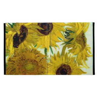 Florero con doce girasoles, bella arte de Van Gogh