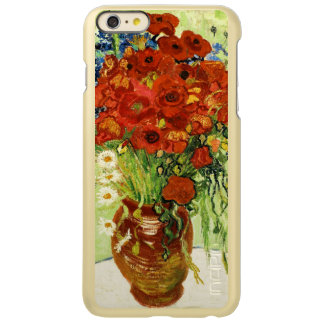 Florero con el caso más del iPhone 6 de los