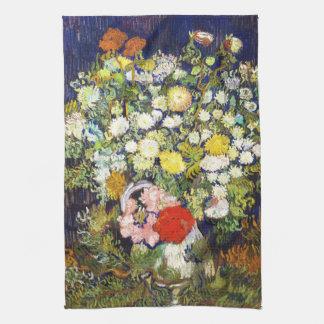 Florero con la bella arte de Vincent van Gogh de l Toalla