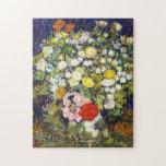 Florero con la bella arte de Vincent van Gogh de l Puzzle Con Fotos