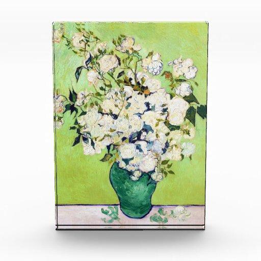 Florero con la pintura de Vincent van Gogh de los