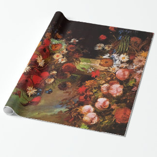 Florero con las amapolas, Cornflowers, Peonies.