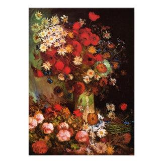 Florero con las amapolas, Cornflowers, Peonies - V Comunicados Personales