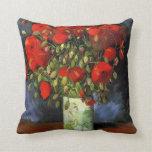 Florero con las amapolas rojas de Vincent van Cojines