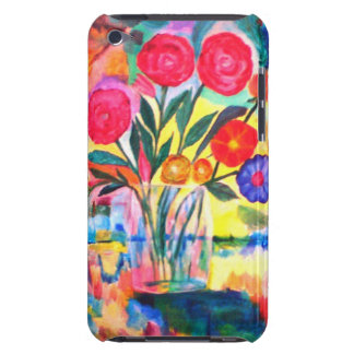 Florero con las flores iPod touch Case-Mate funda