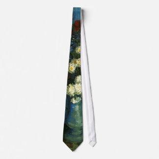 florero con los cornflowers y las amapolas, Van Corbatas Personalizadas