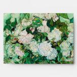 Florero con los rosas de Vincent van Gogh