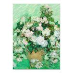 Florero con los rosas de Vincent van Gogh Invitación