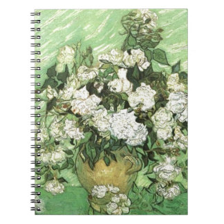 Florero con los rosas - Van Gogh Cuadernos