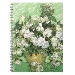 Florero con los rosas - Van Gogh Libreta