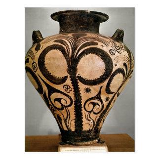 Florero con una decoración floral, de Mycenae Postal