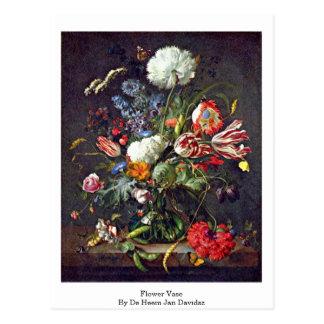 Florero de De Heem enero Davidsz Tarjeta Postal