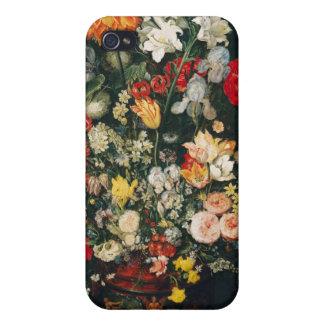 Florero de flores iPhone 4 cárcasa