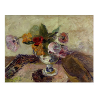 Florero de Paul Gauguin- de flores Postal