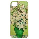 Florero de rosas de Van Gogh iPhone 5 Case-Mate Protectores