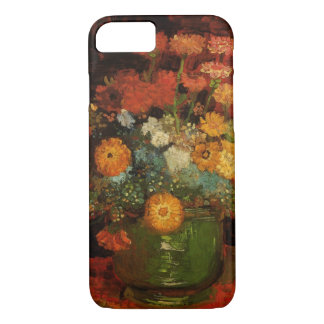 Florero de Van Gogh con bella arte floral del Funda iPhone 7