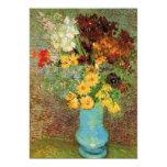 Florero de Van Gogh con las margaritas y las Invitación 12,7 X 17,8 Cm