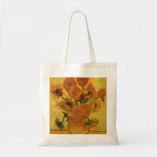 Florero de Van Gogh con los girasoles, flores de
