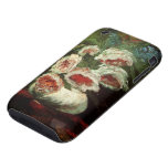 Florero de Van Gogh con los Peonies, flores floral Tough iPhone 3 Carcasa