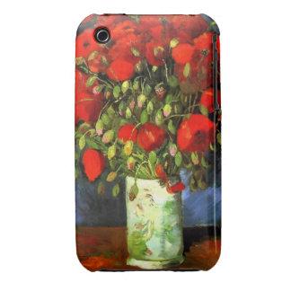Florero de Vincent van Gogh con arte floral de las Case-Mate iPhone 3 Fundas
