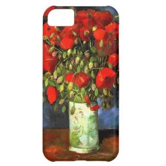 Florero de Vincent van Gogh con arte floral de las Funda Para iPhone 5C