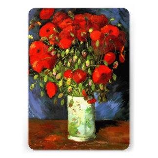 Florero de Vincent van Gogh con las amapolas rojas Comunicados Personales