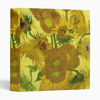 Florero de Vincent van Gogh con quince girasoles 1