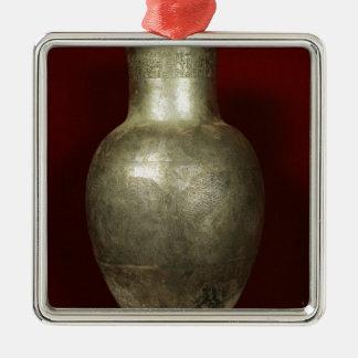 Florero dedicado por Entemena a dios Nigirsu Ornamento Para Reyes Magos
