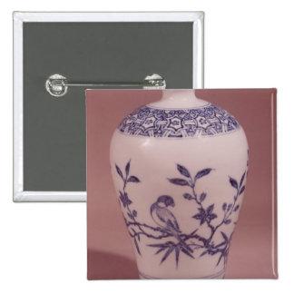Florero del flor, dinastía de Ming Pin
