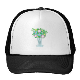 Florero del ramo gorra