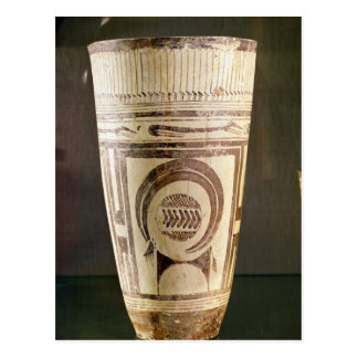 Florero, estilo I, de Susa, Irán, 5000-4000 A.C. Tarjetas Postales